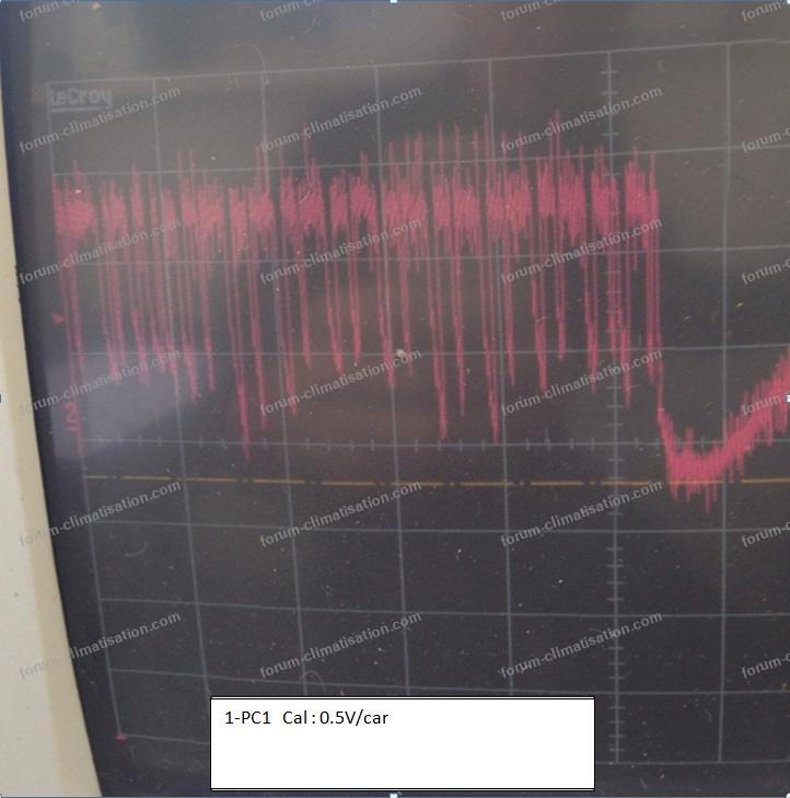 mesure dépannage clim Mitsubishi