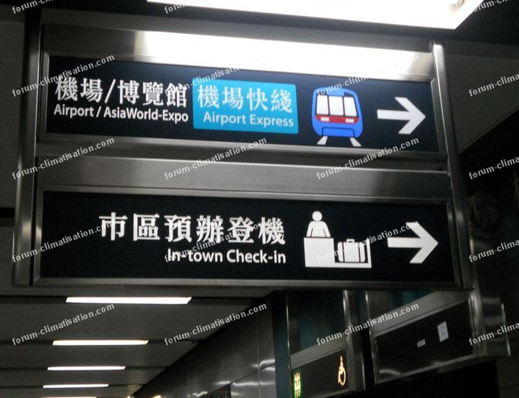 métro pour l'aéroport