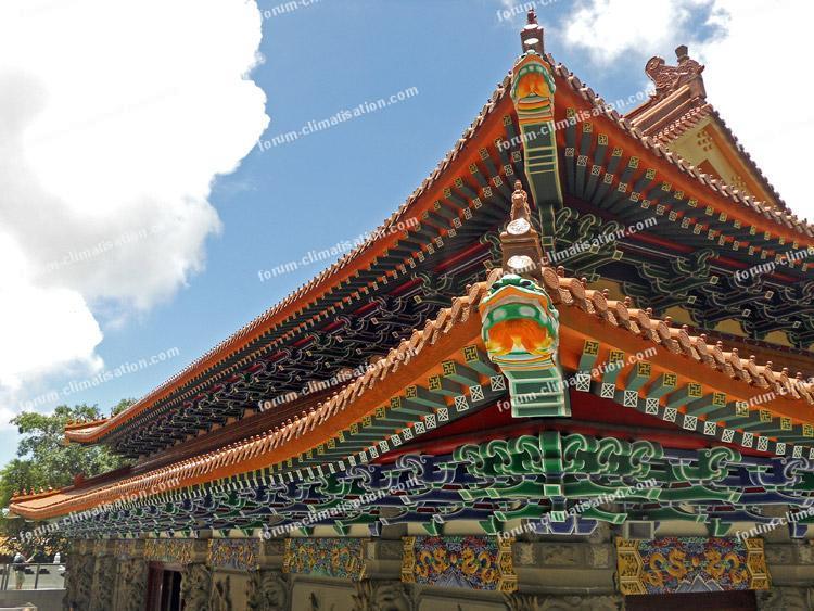 monastère de Po Lin - île de Lantau