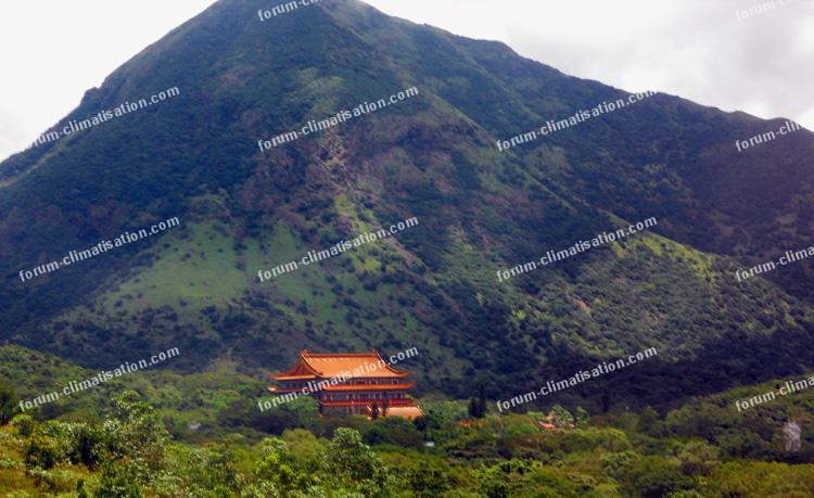 Monastère de Po Lin île de Lantau
