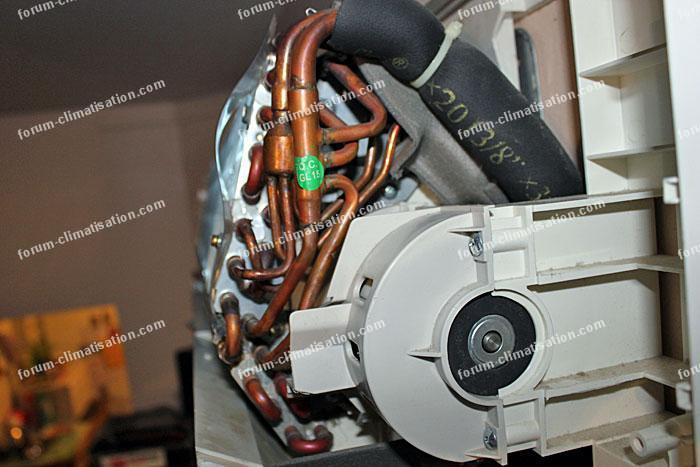 climatisation d monter un moteur ventilation tangentiel conseils d pannage. Black Bedroom Furniture Sets. Home Design Ideas