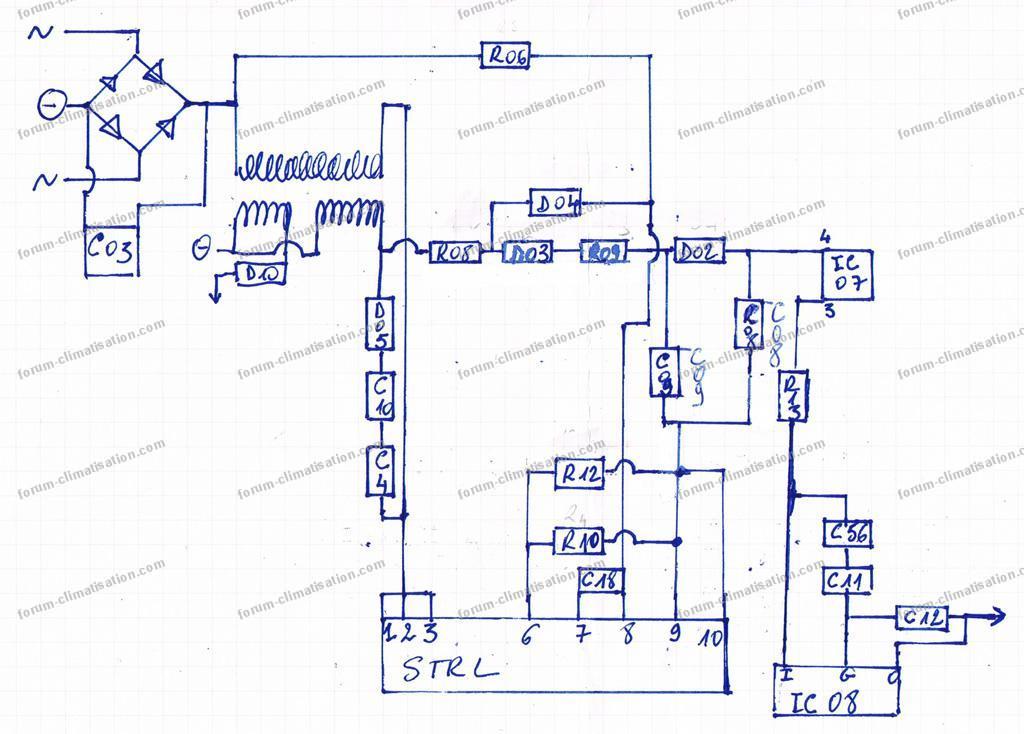 nouveau schéma circuit clim Toshiba