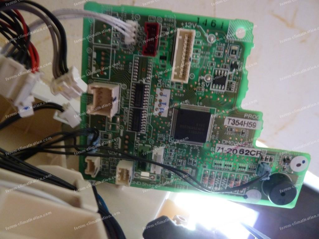 panne carte electronique climatiseur mitsubishi 048