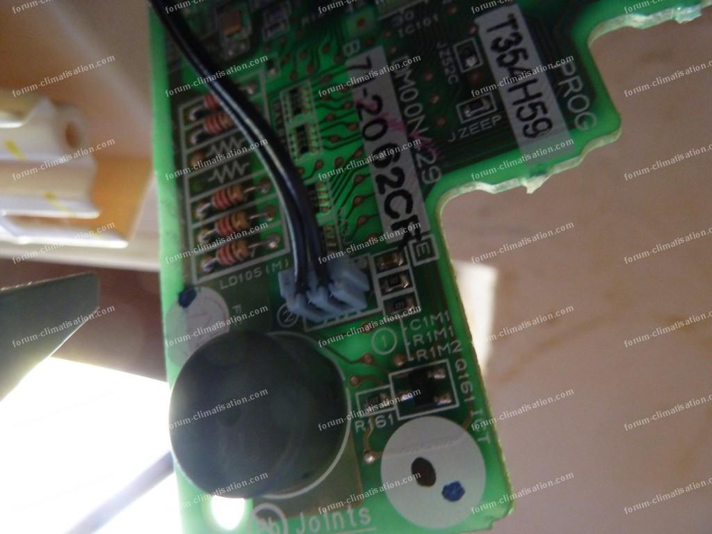 panne carte electronique climatiseur mitsubishi 049