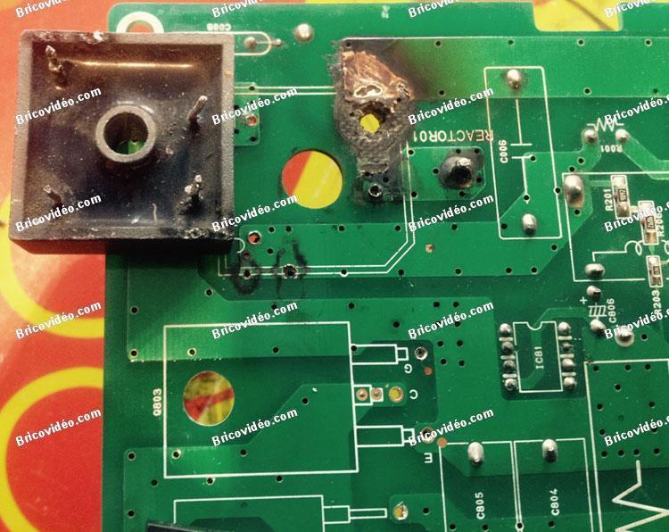 Réparation cartes électronique pompe à chaleur Sanyo 3144