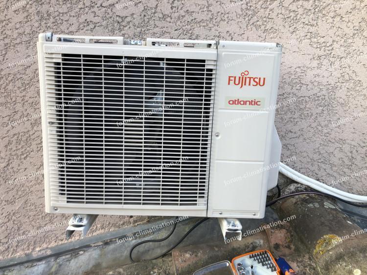 panne clim Fujitsu Atlantic