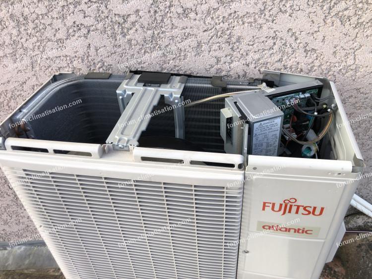 panne UI clim Fujitsu Atlantic