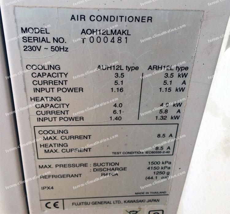 forum d pannage climatisation panne sur climatisation general inverter mod aoh12lmakl. Black Bedroom Furniture Sets. Home Design Ideas