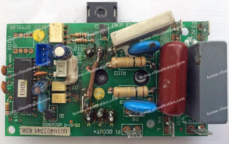panne climatiseur Airton après coupures d'électricité