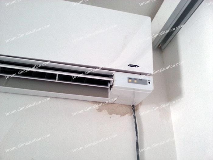 panne climatiseur Carrera