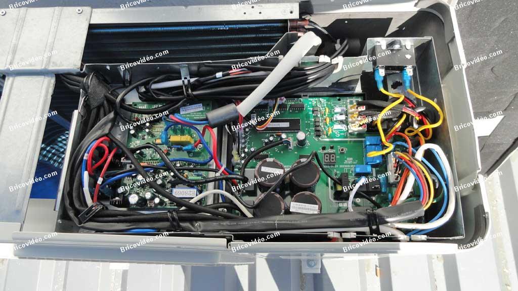 panne erreur p1 climatiseur multisplit altech