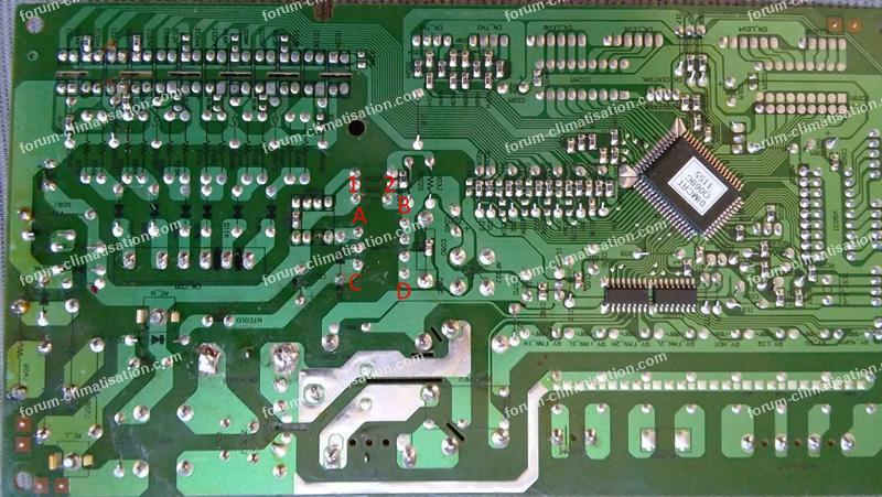 dépannage PCB Climatiseur LG