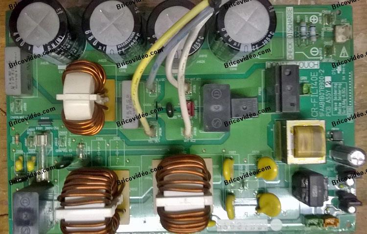 Panne pompe à chaleur Sanyo affiche erreur E04