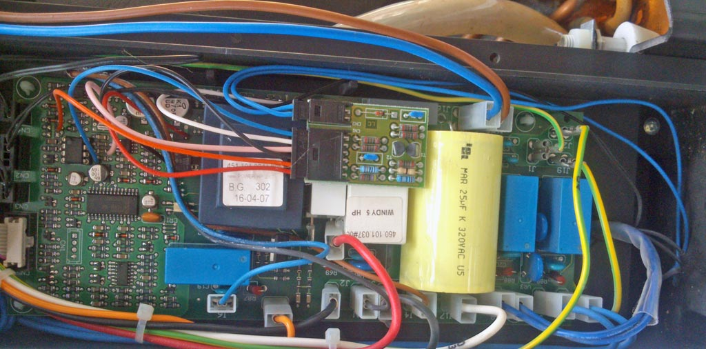 panne ventilateur clim monobloc Windy 5 HP