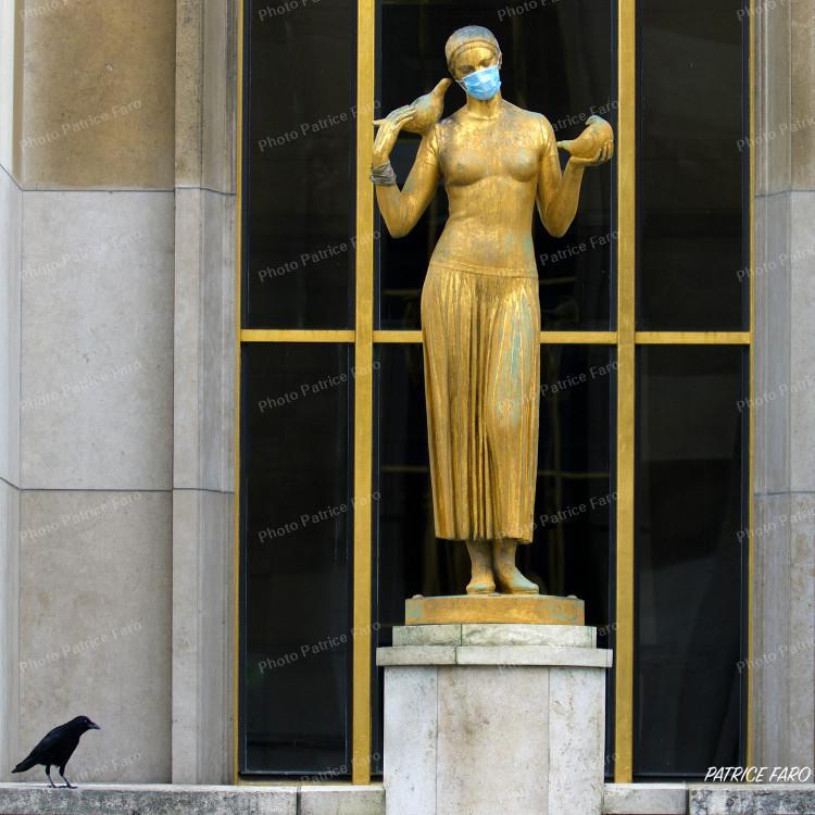 Paris en confinement - Photo Patrice Faro