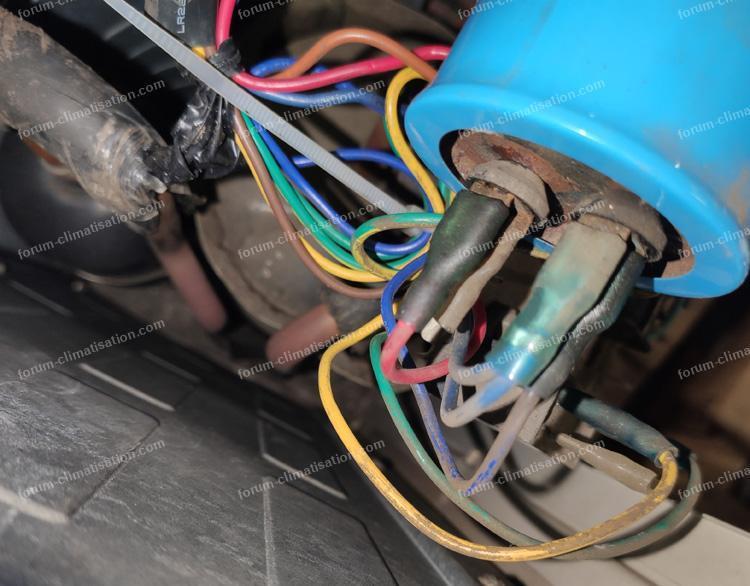 câblage ue climatiseur Airwell