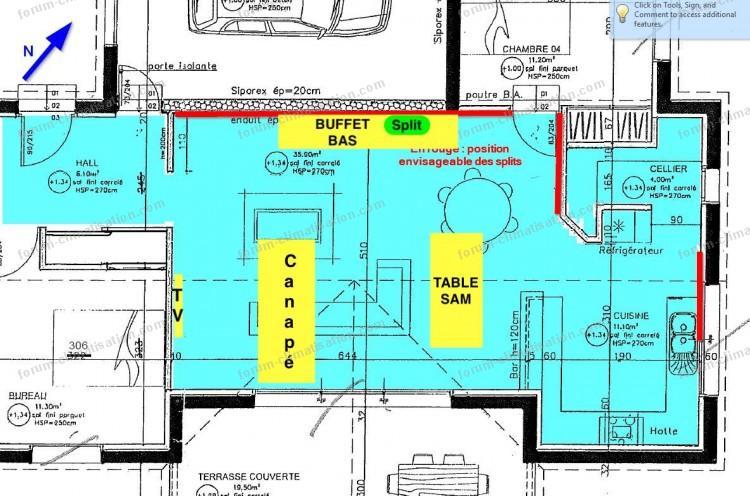 forum climatisation bricovid o faut il choisir deux splits de 2500w ou un split de 5000w. Black Bedroom Furniture Sets. Home Design Ideas