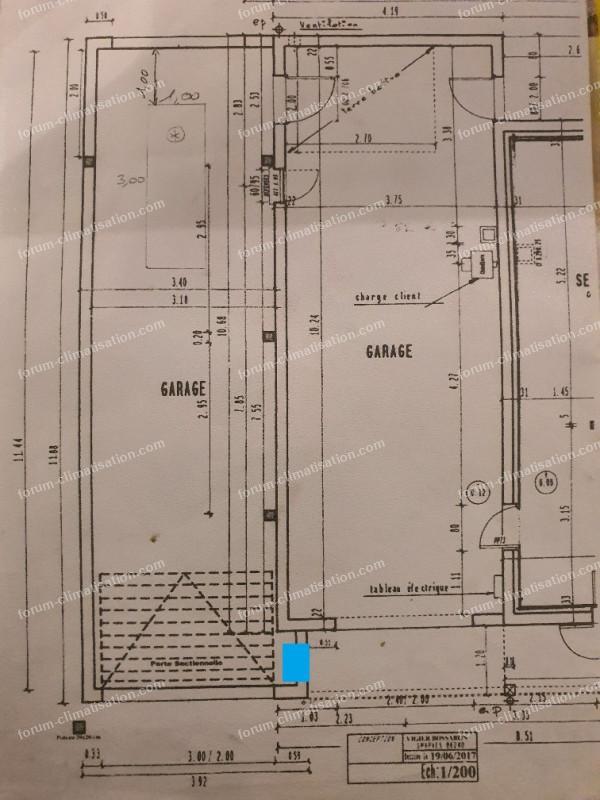 plan installation pompe à chaleur