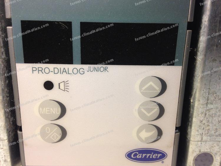 Pro Dialog pompe à chaleur PAC Nexa Carrier