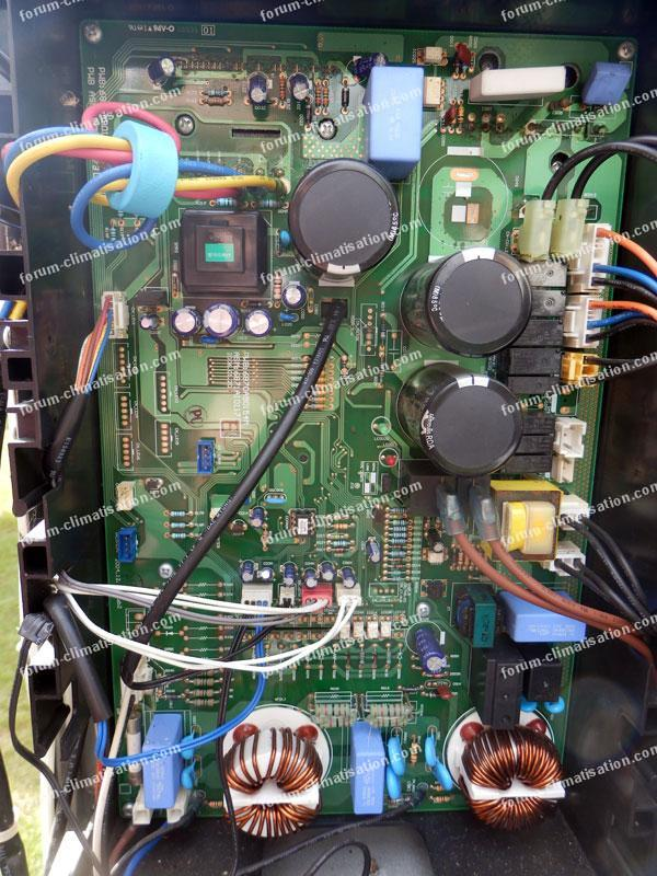 problème PAC LG inverter code erreur 26
