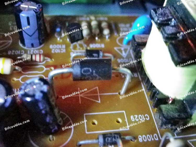 récupération composants électronique