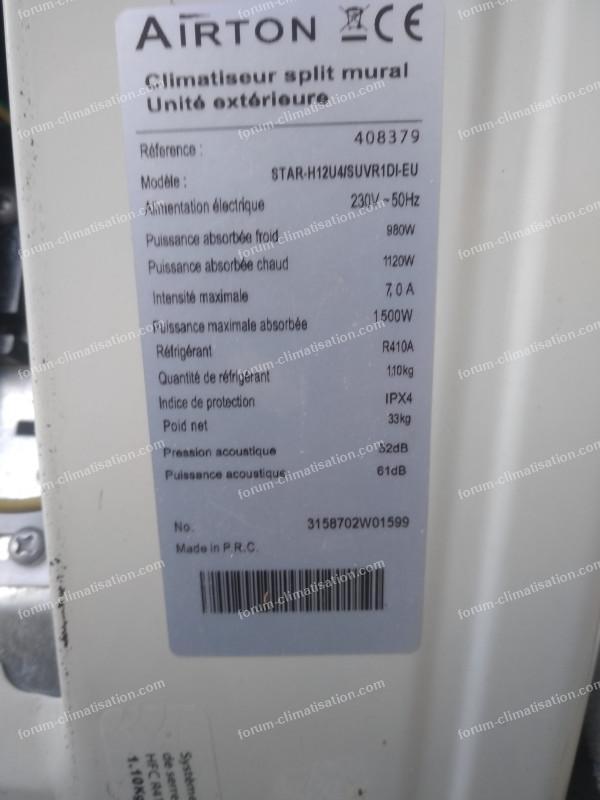 référence climatisation Airton