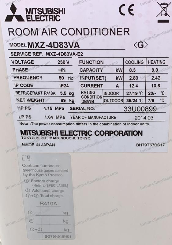 références UE Mitsubishi
