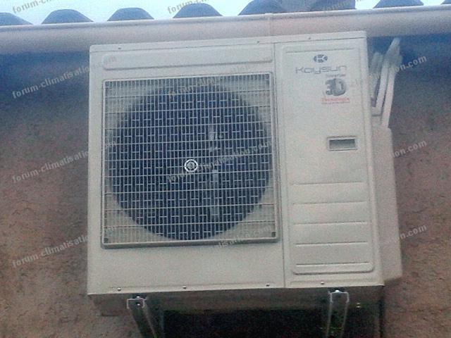 réglage température clim réversible Daikin