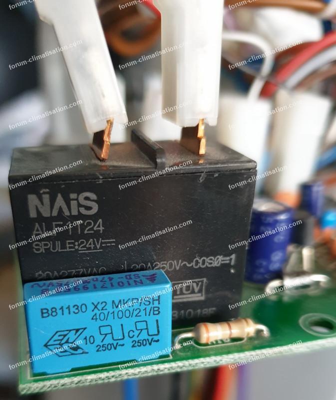 relai 24 volts climatiseur