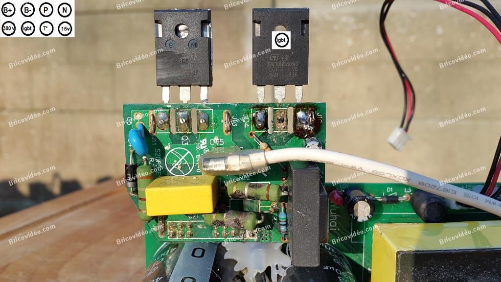 remplacement igbt climatisation inverter