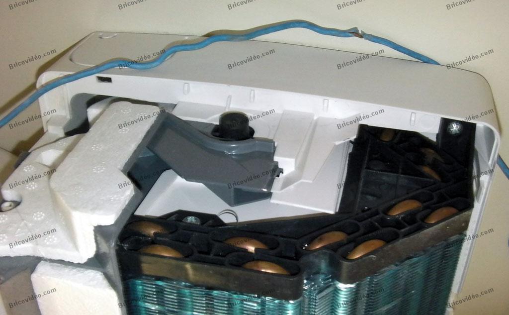 remplacer moteur climatiseur skiron
