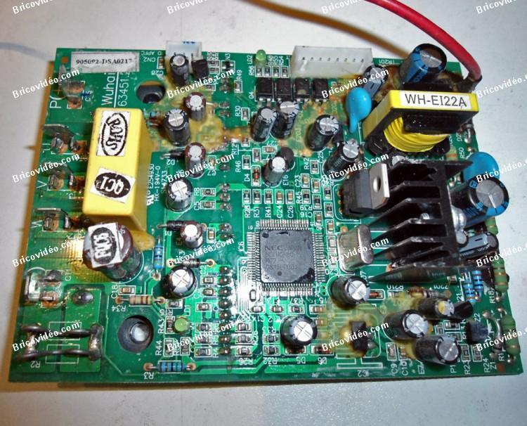 remplacer transistors carte de puissance climatisation