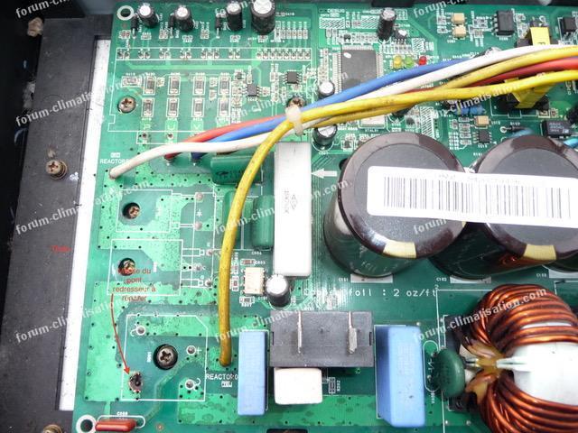 Réparation circuit imprimé clim Samsung