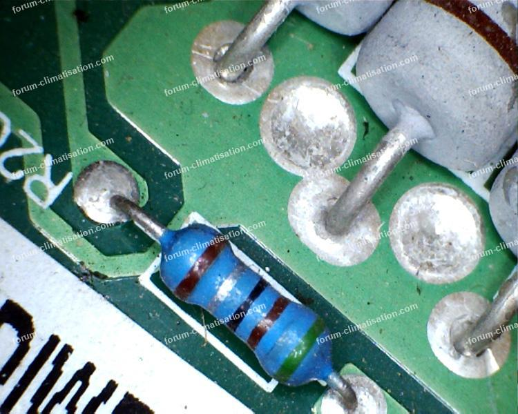 résistance R20 clim AUX