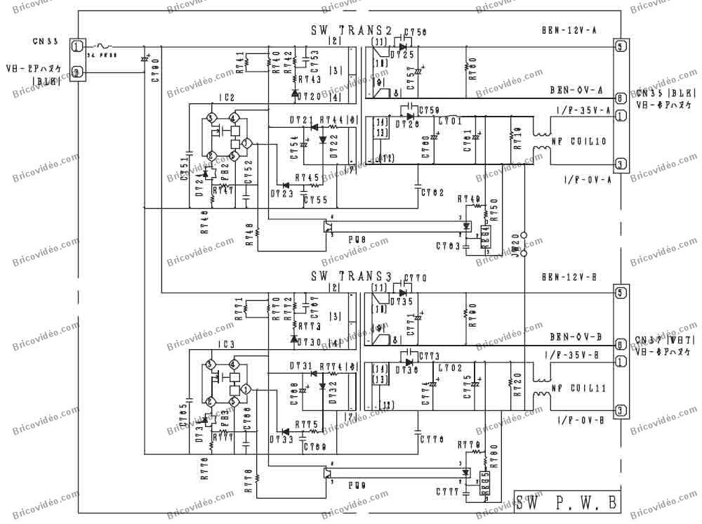 schéma pwb switch power