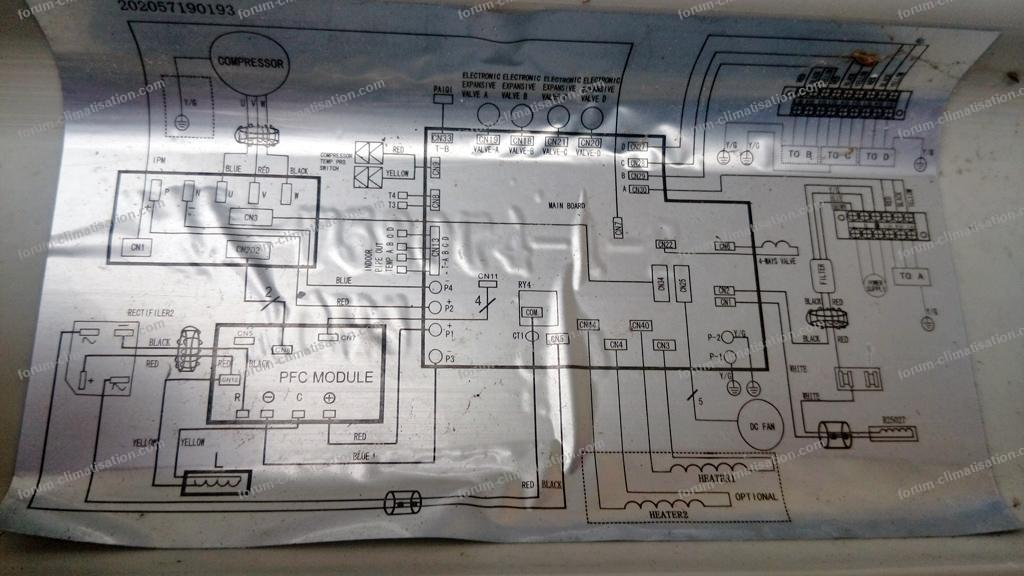 schéma climatiseur Altech