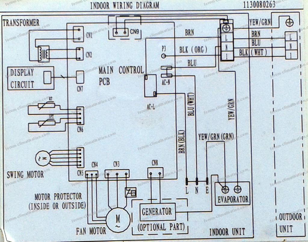schéma climatiseur Inverter TCl