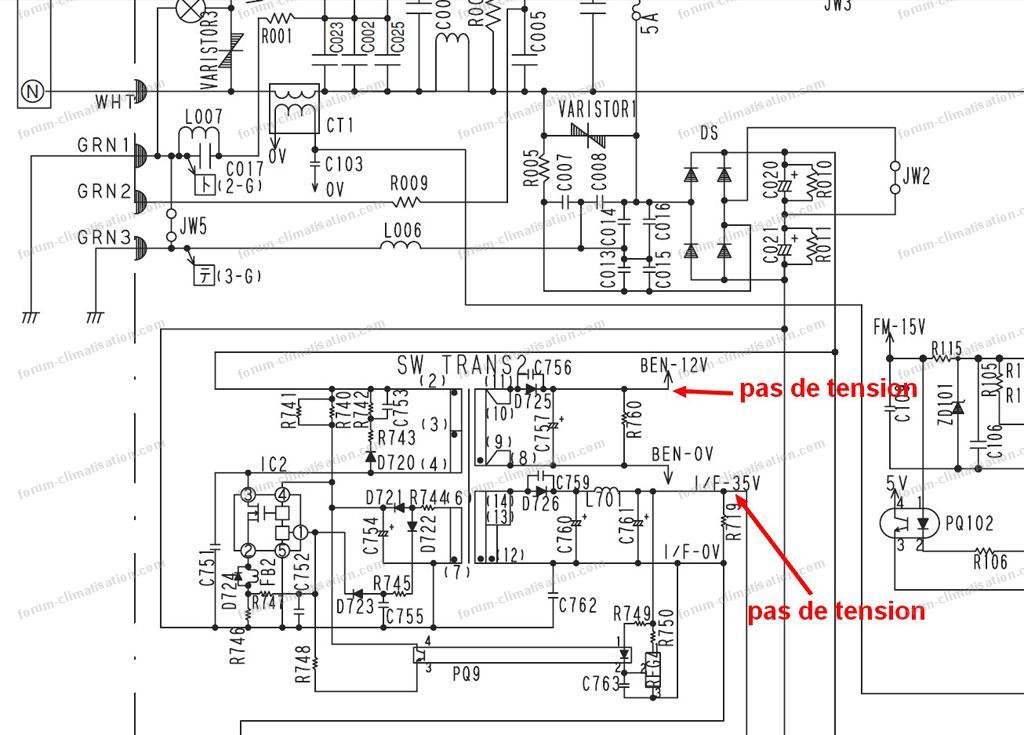 forum climatisation probl me avec groupe ext rieur hitachi ram 130qh5. Black Bedroom Furniture Sets. Home Design Ideas