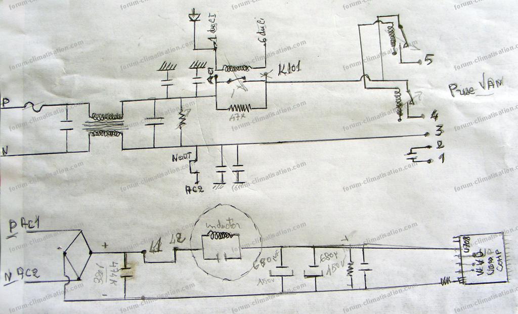 schéma identifier un climatiseur