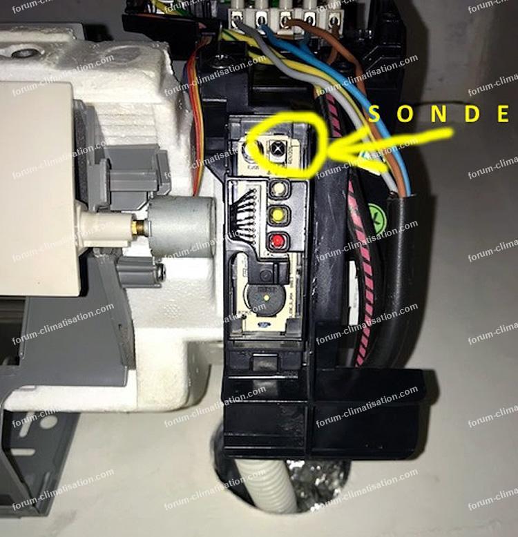 sonde clim Daikin FTXN35
