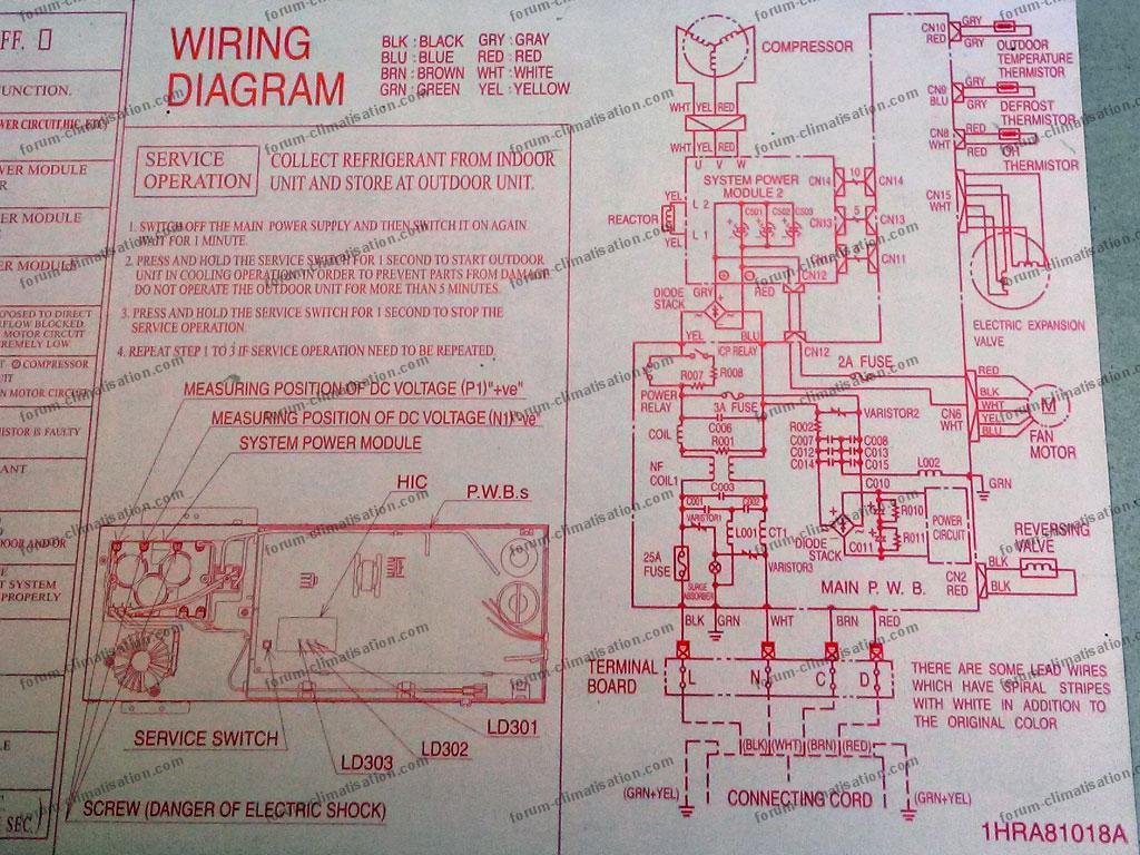 forum climatisation diagnostic panne clim r versible hitachi ue rak 50nh4 ui raf 50nh4. Black Bedroom Furniture Sets. Home Design Ideas