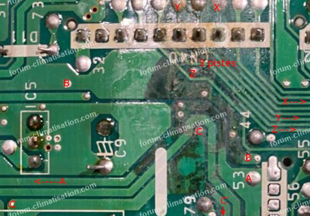 test des pistes circuit imprimé