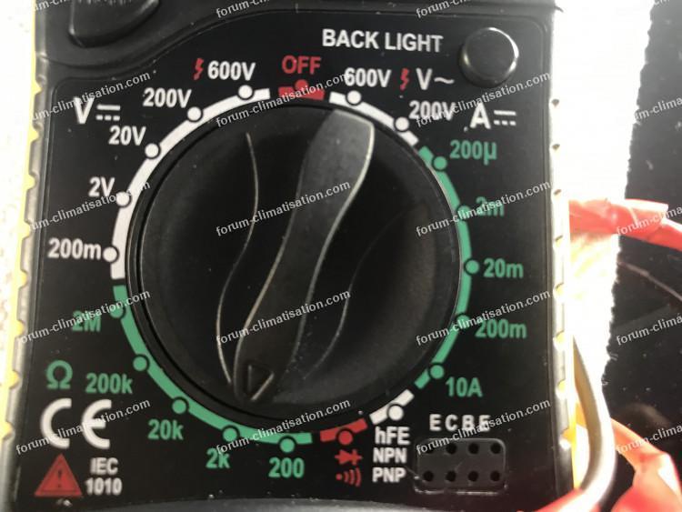 test pistes circuit imprimé