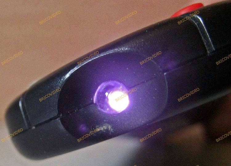 Tester une télécommande infrarouge