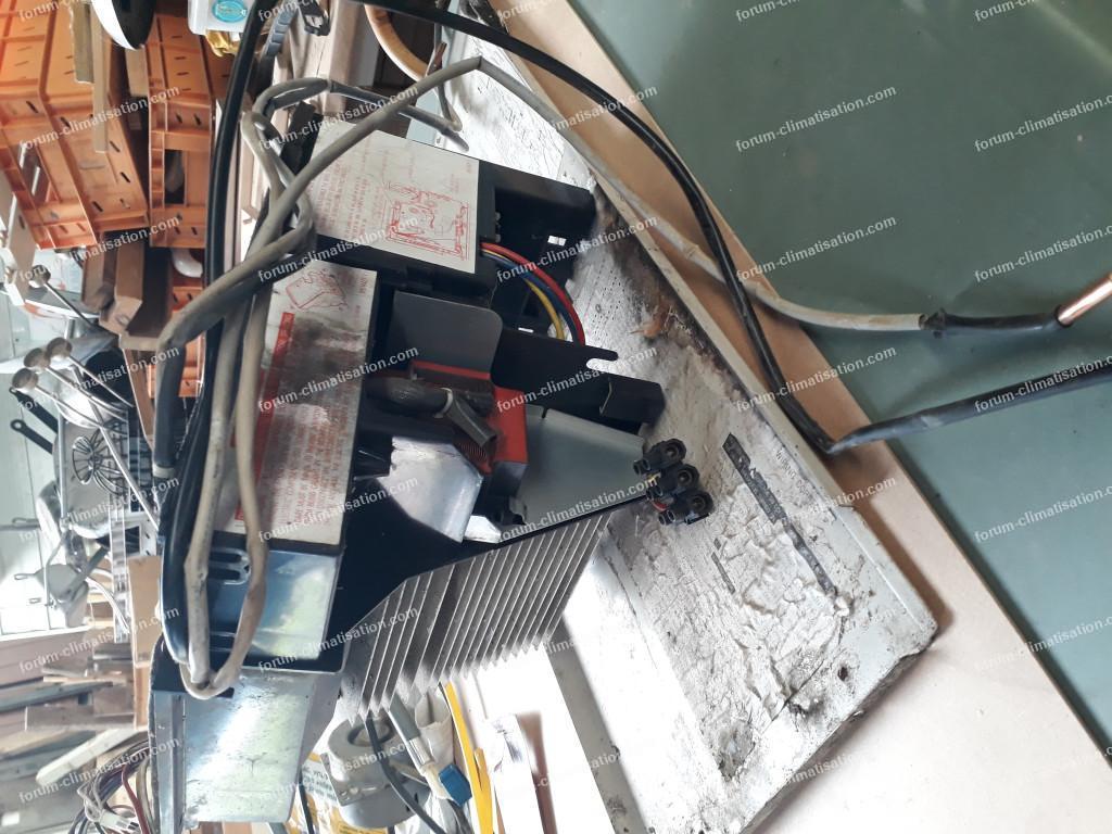 transformer unités intérieures en ventilateur