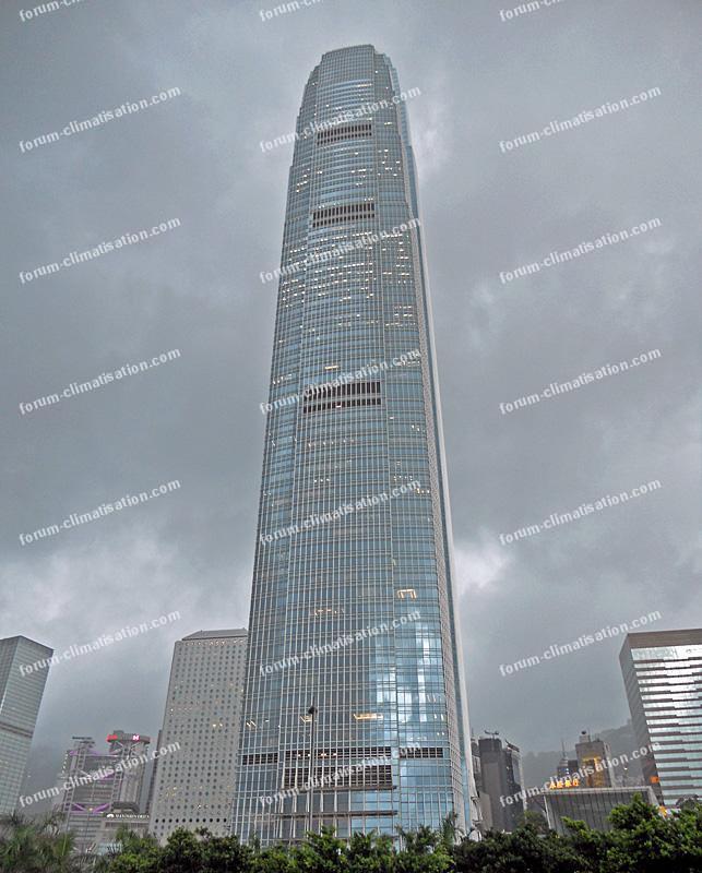 Two International Finance Centre à Hong Kong