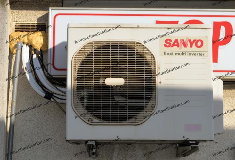 unité extérieure climatisation Sanyo