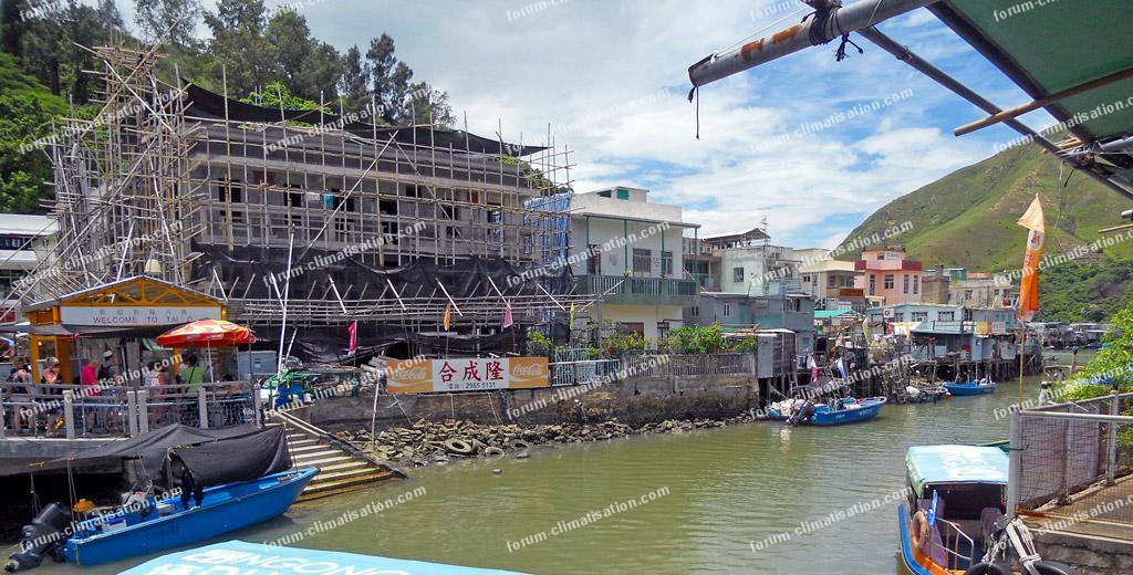 village de pêcheurs de Tai O