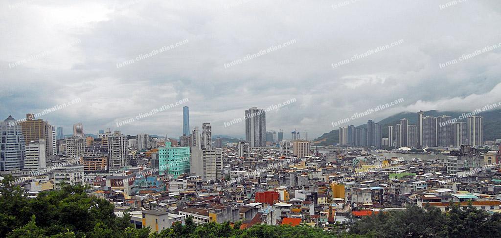 vue panoramique de la Ville de Macao